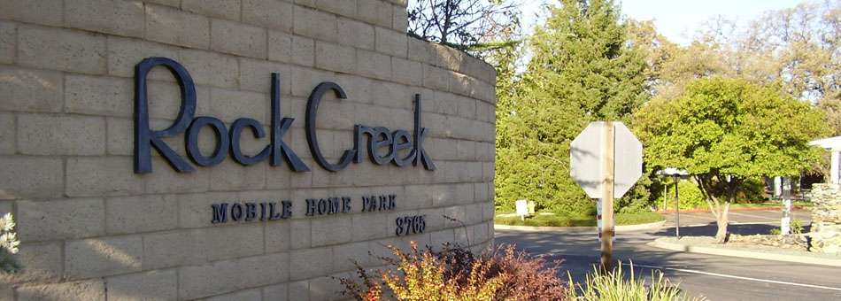 Rock Creek Mobilehome Community | Auburn, CA